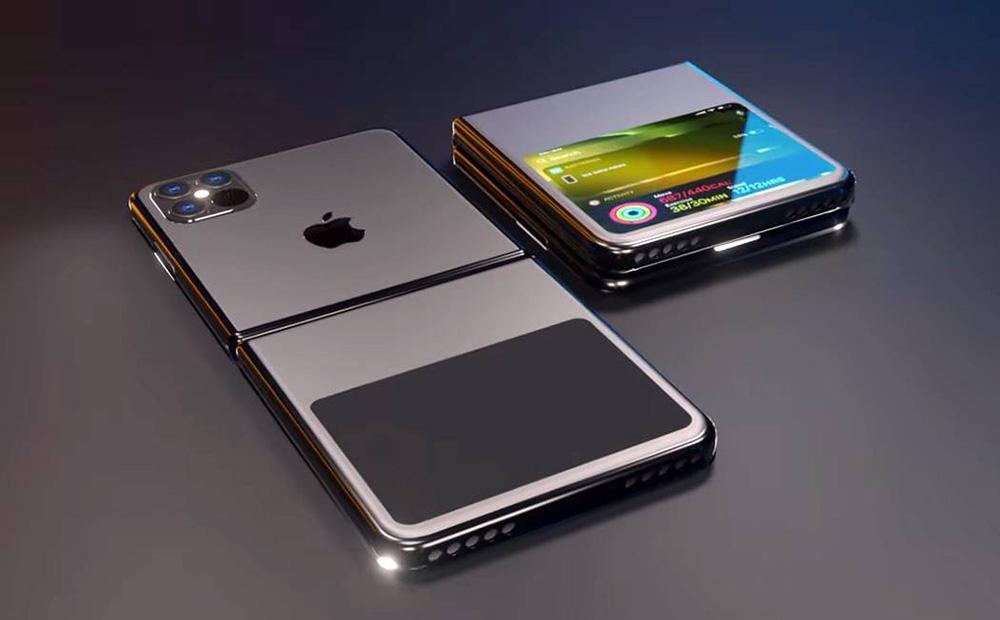 Bạn có đang mong chờ chiế điện thoại có thể gập lại đầu tiên của Apple?